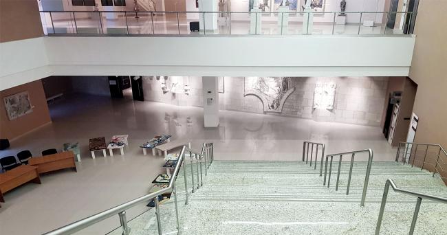 Восточный атриум северного крыла. . Здание музея в «Новом Иерусалиме». Реализация, 2013 © АО «Сити-Арх». Фотография © Юлия Тарабарина, Архи.ру