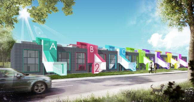 Проект «Реновация промышленного здания под многофункциональный комплекс». Автор: Егор Рыбин. Изображение предоставлено ИД «Строительный эксперт»