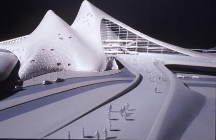 Заха Хадид. Культурный центр и оперный театр в Дубае