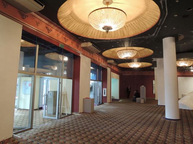 Кинотеатр «Ударник». Интерьер. Фото: Shakko via Wikimedia Commons. Лицензия CC BY-SA 4.0