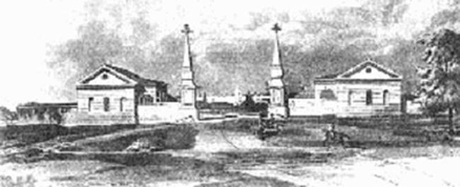 Rogozhskaya Zastava, XIX century.  tinlib.ru
