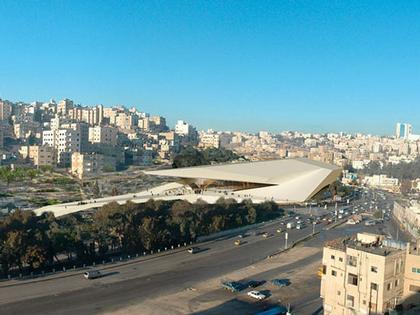«Делуган Майссль». Центр «Дарат» Короля Абдуллы II в Аммане. 1-я премия