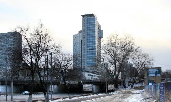 МФК «Золотые ворота». © Мастерская Павла Андреева. Фотография © Юлия Тарабарина, Архи.ру