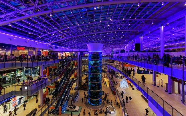 Торговый центр «Авиапарк». Фото: A.Savin via Wikimedia Commons. Лицензия FAL
