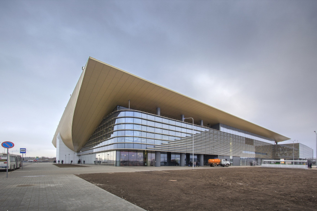 Новый пассажирский терминал аэропорта в Перми © Андрей Асадов