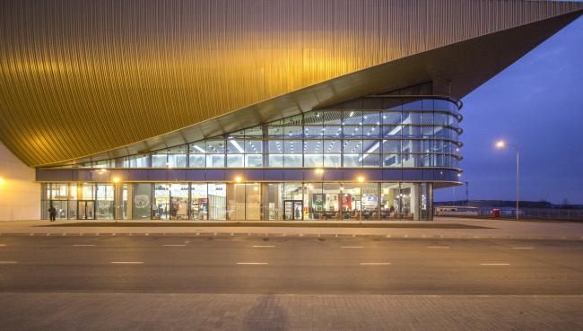 Новый пассажирский терминал аэропорта в Перми. Интерьер © Андрей Асадов
