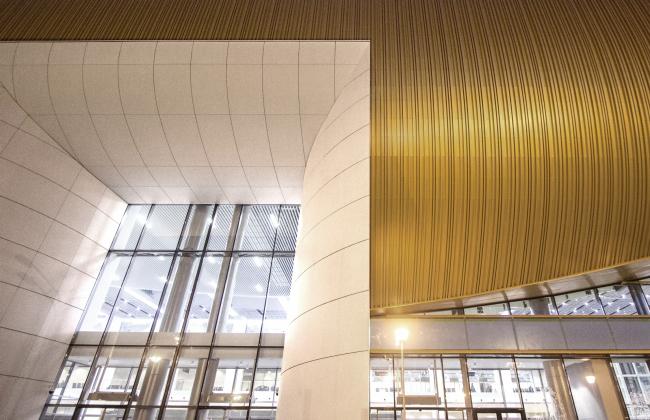 Новый пассажирский терминал аэропорта в Перми. Интерьер © Архитектурное бюро Асадова