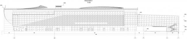 Новый пассажирский терминал аэропорта в Перми. Фасад © Архитектурное бюро Асадова