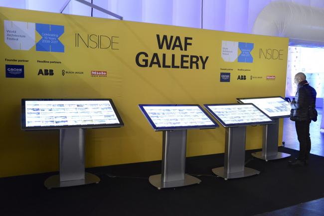 Галерея проектов и построек, вышедших в шорт-лист на премии WAF 2017, представлена в виде цифровой галереи. Изображение предоставлено WAF