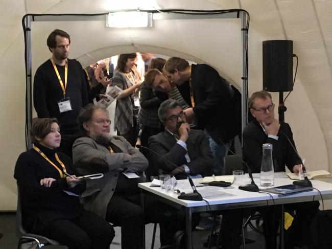 Никита Явейн, Студия 44, как победитель одной из номинаций конкурса WAF 2015 вот уже второй год подряд принимает участие в работе жюри конкурса. Фото Цены Петуховой