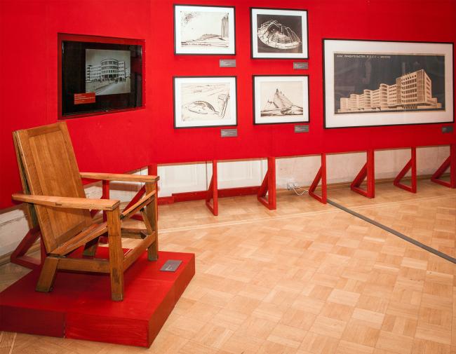 «Авангардстрой. Архитектурный ритм революции». Фотография предоставлена музеем архитектуры