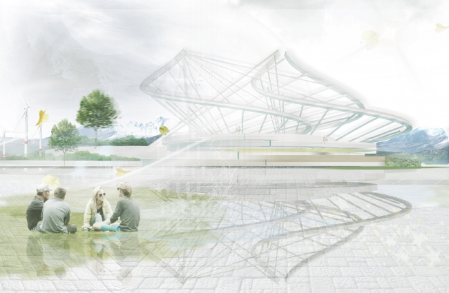 Проект стадиона в Твери. Авторы: Борискина Полина, Кузнецова Ирина, МГСУ
