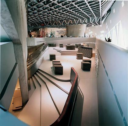 Заха Хадид. Музей – Научный центр «Фэно» в Вольфсбурге
