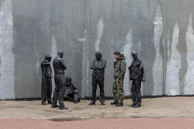 Тюрьма Сторстрём. Скульптурная группа работы Клауса Карстенсена © Torben Eskerod