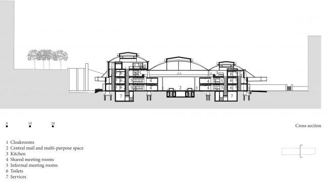 Кампус предприятий-стартапов Station F  © Wilmotte & Associés Architectes