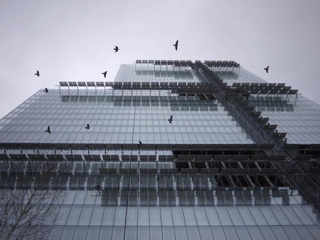 Парижский суд. Фото: Maxime Laurent © RPBW