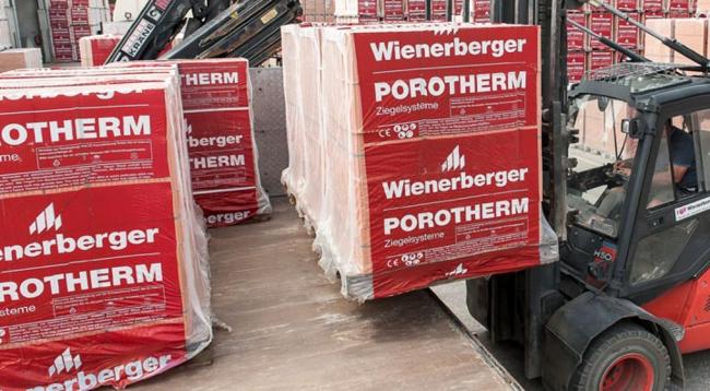 теплые стены – керамические блоки Porotherm концерна Wienerberger!