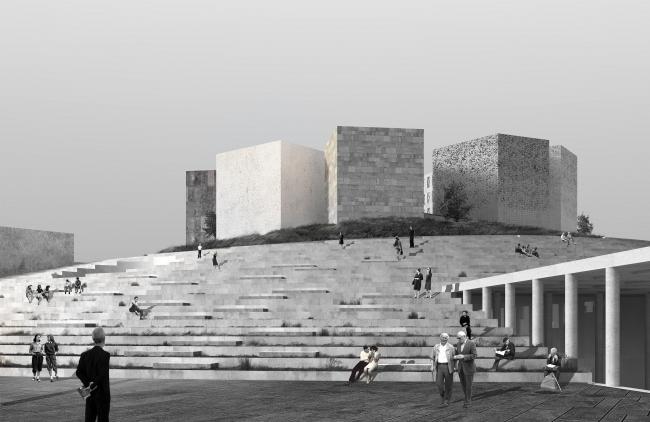 Музейно-выставочный комплекс «Оборона и блокада Ленинграда». Общий вид. © Студия 44