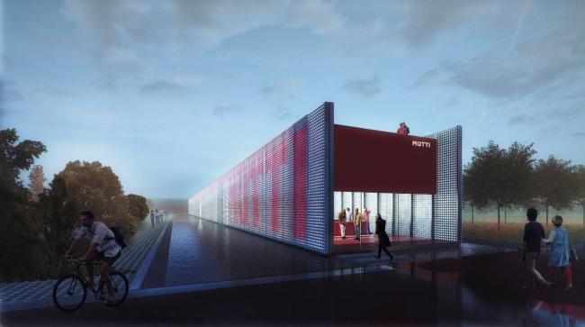 Проект для компании Mutti. Центр для посетителей © Carlo Ratti Associati
