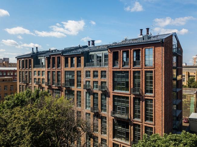 Комплекс апартаментов «Рассвет 3.34» в Столярном переулке. ©KR Properties