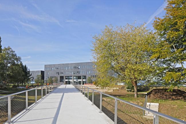 Инженерное училище École Centrale Paris. Фото © Philippe Ruault, предоставлено OMA