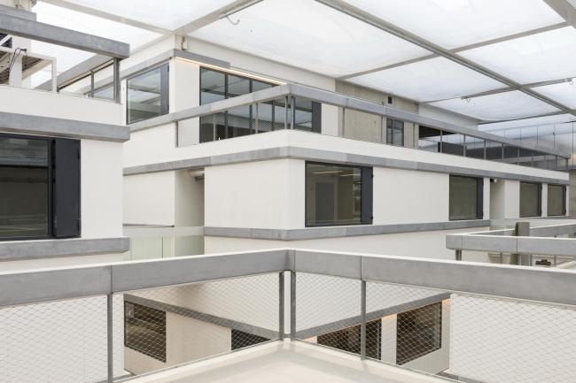 Инженерное училище École Centrale Paris. Фото © Antoine Cardi, предоставлено OMA