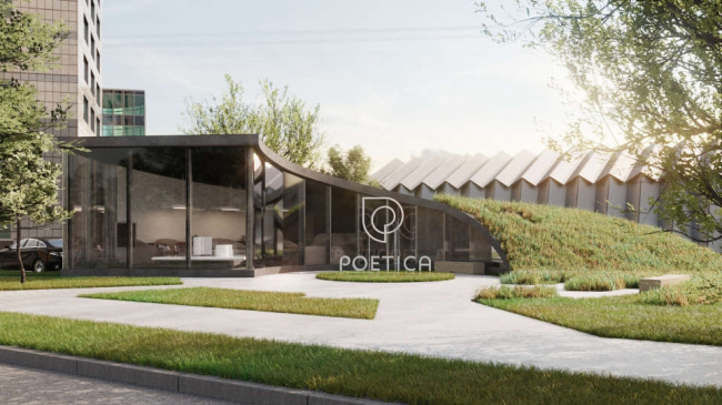 Офис продаж ЖК Poetica © Dmytro Aranchii Architects