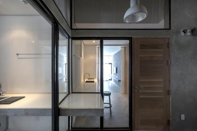 Отель и апартаменты Tamasa © Akinobu Kawabe