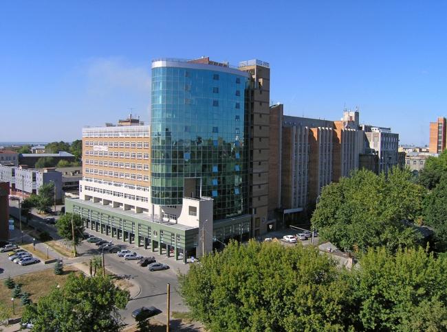 Административно-жилой комплекс «Цеппелин» © Архстрой