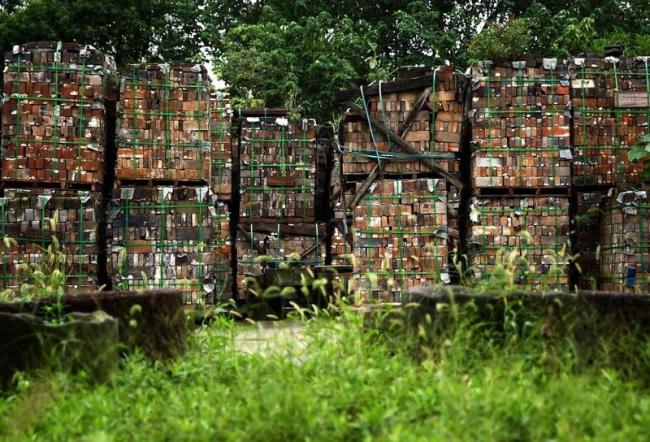 Части вилл после демонтажа © Aman Resorts
