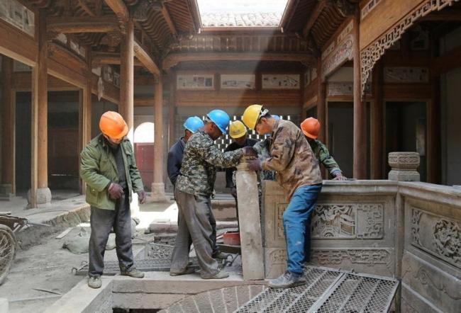 «Сборка» вилл в Шанхае © Aman Resorts