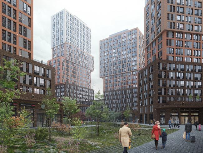 Жилой комплекс «Vander Park» © Проектное бюро АПЕКС