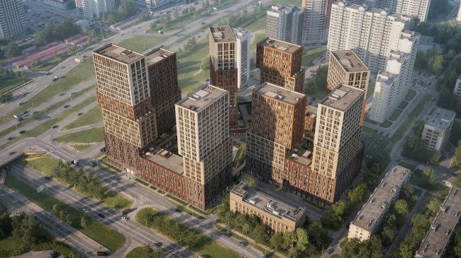 """""""Vander Park"""" housing complex © PIK Group"""