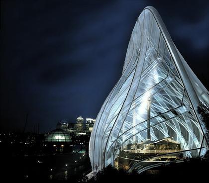«Катти Сарк» – проект музеефикации. Вариант 2004 г. Вид во время реставрации