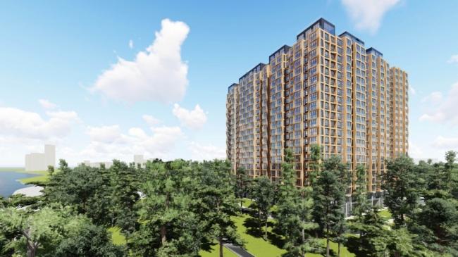 Жилой комплекс «Серебряный Бор» © Архитектурное бюро «Остоженка»