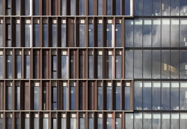 Башня Maersk, здание факультета медицинских наук Копенгагенского университета © Adam Mørk