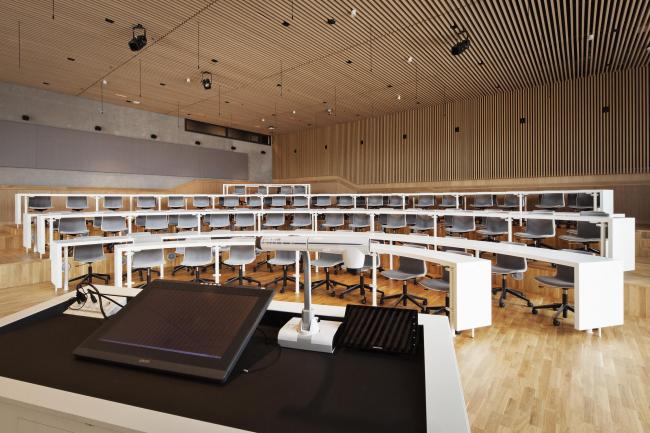 Башня Maersk, здание факультета медицинских наук Копенгагенского университета © Stamers Kontor