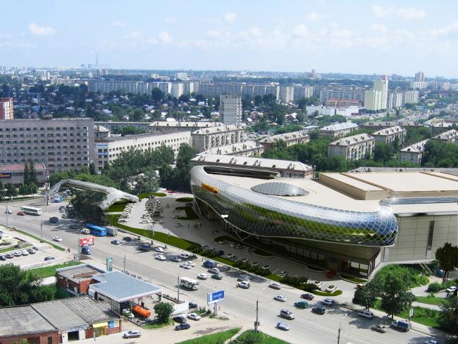 Торгово-развлекательный центр «Европейский» © ООО «АкадемСтрой»