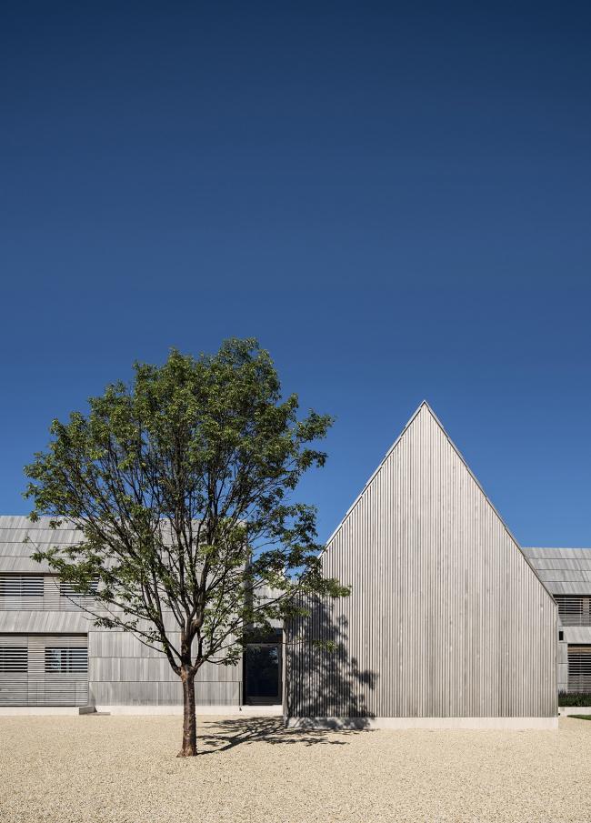 Частный дом Georgica Cove, Ист-Хэмптон, США.  Bates Masi + Architects. Изображение предоставлено Канадским советом по древесине