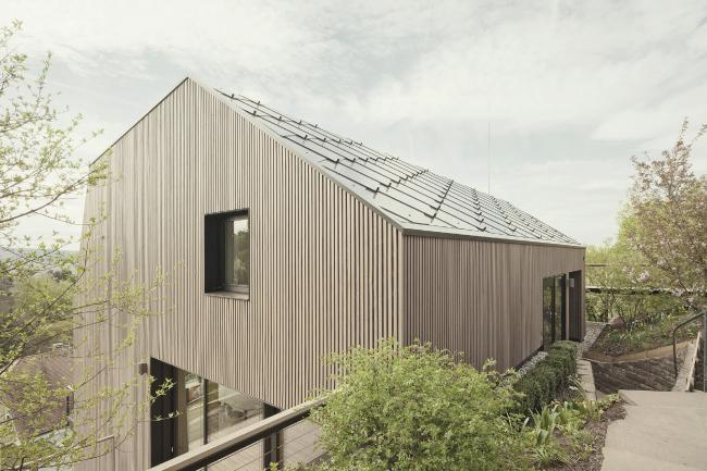 Частный дом Haus B, Штутгарт, Германия.  Yonder – Architektur und Design. Изображение предоставлено Канадским советом по древесине