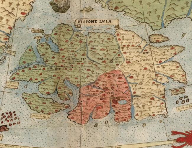 В сеть выложили оцифрованную карту мира эпохи Возрождения Монте, Кликабельно, davidrumseycom, сайта, Изображение, фрагмента, Часть, Рамси, Урбано, Карта, Дэвид, времени, большой, Испании, своего, Центральная, Однако, чтобы, многие, только