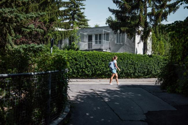 Парные блокированные дома №6–7, архитектор Рихард Бауэр. Фото © Денис Есаков