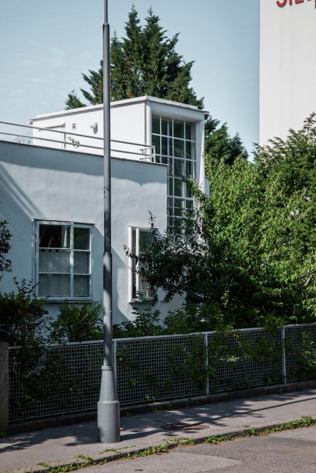 Четыре блокированных дома №8–11, архитектор Йозеф Хоффман. Фото © Денис Есаков