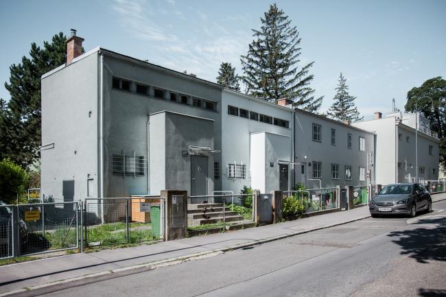 Парные блокированные дома №35–36, архитектор Эрнст Плишке. Фото © Денис Есаков