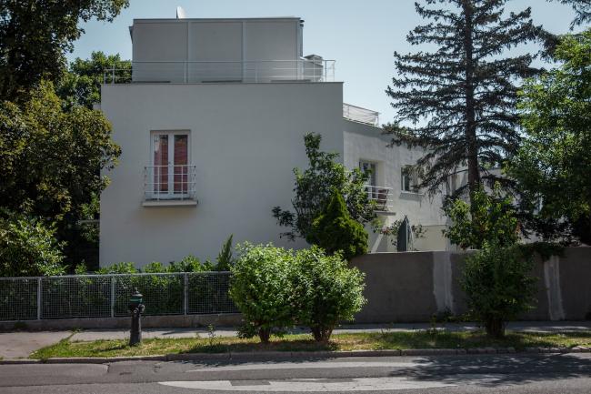 Парные блокированные дома №39–40, архитектор Освальд Хэрдтль. Фото © Денис Есаков