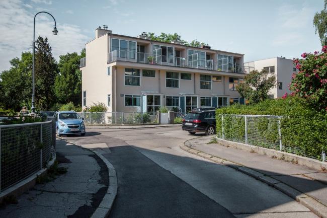Четыре блокированных дома №53–56, архитектор Геррит Ритвелд. Фото © Денис Есаков