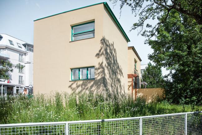 Блокированные дома №69–70, архитектор Хельмут Вагнер-Фрайнсхайм. Фото © Денис Есаков