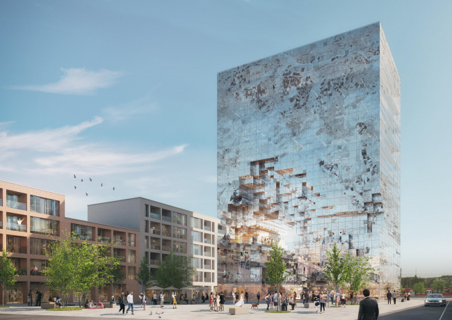 Комплекс The Milestone (Block E) © MVRDV