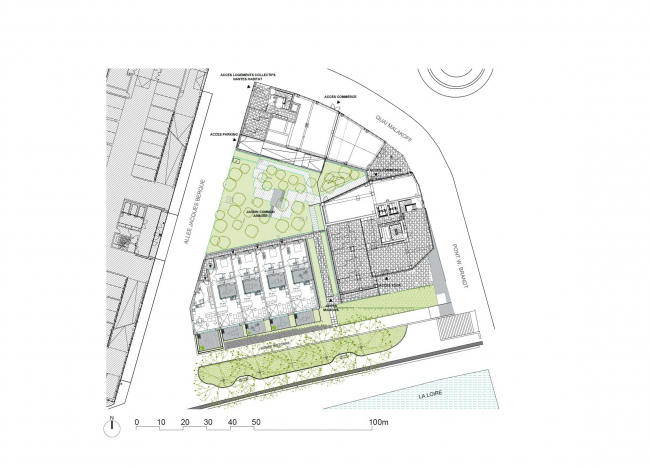 Жилой комплекс Hémêra © Berranger Vincent architectes