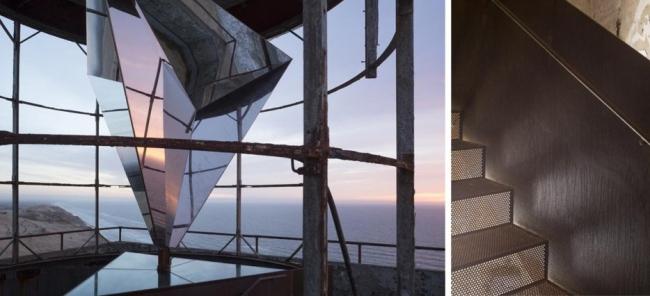 Маяк Rubjerg Knude. Проект реконструкции разработан BESSARDs' Studio / JaJa Architects. Фотография © Хампус Берндтссон (Hampus Berndtsson)